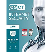 ESET Internet Security 2020 | 1 Gerät | 1 Jahr | Windows (10, 8, 7 und Vista), macOS, Linux und Android | Download
