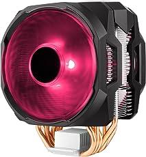 RGB CPU Air Cooler MA610P 6 CDC Heat Pipes Master Fan 120mm Intel/AMD AM4 Support (RGB)