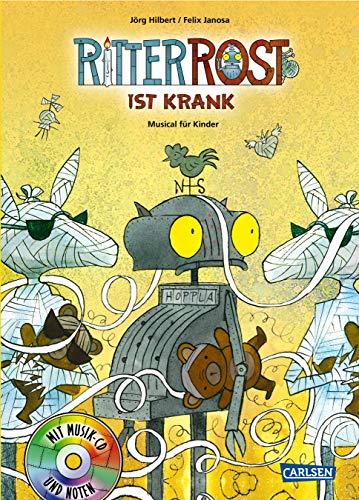 Ritter Rost 10: Ritter Rost ist krank: Buch mit CD 10 Band