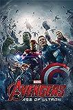 Poster d'Avengers: L'Ére d'Ultron Affiche du Film (61cm x 91,5cm)