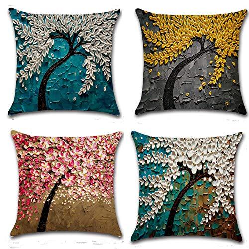 Top Made Home Dekorative Stickereien Überwurf Kissen Fall Couch Kissenbezug, Baumwolle, baumwolle, 1PWCR-17-7, 18