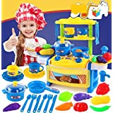 Hobnot Dream Kitchen Interactive Little Chef Kids Simulation Cookware Play Set With Light & Sound