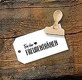 Hochzeit Stempel Für die Freudentränen aus Buchenholz, Qualitätsprodukt aus Österreich, perfekt für DIY Wedding