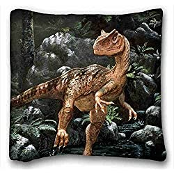 "Custom ( Animal Dinosaur ) Pillow Covers Bedding Accessories Size 16""X16"" suitable for Full-bed PC-White-2691"