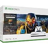 Pack Xbox One S 1 To Anthem + 1 mois EA Access + 1 mois de Xbox Live Gold + 1 mois de Game Pass