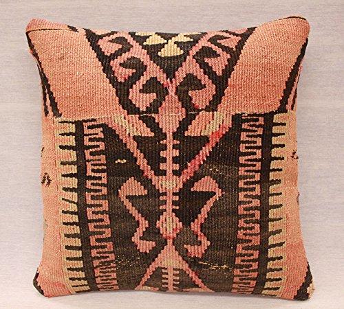 ETFA Kelim Kissen Kissenbezug Kissenhülle cushion cover pillow 40x40 cm 3538