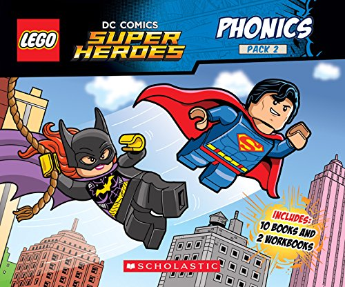 (Lego DC Super Heroes) (Lego DC Comics Super Heroes K-1st - Reading Level Grade 1, Band 2) ()