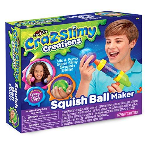 Cra-Z-Slimy 18908 Creations Squish Ball Maker, Multi