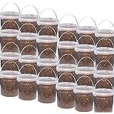24 x 3,5 kg Eimer Erdnusskerne mit Haut ganze Erdnüsse Winterfutter Vogelfutter