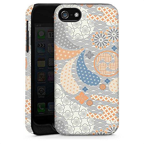 Apple iPhone 6 Housse Étui Silicone Coque Protection Ornements Chine Pastel Cas Tough brillant