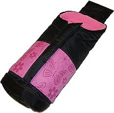 Winterfußsack Fußsack Buggy Kinderwagen Jogger Schlitten Kinderwagenfußsack Fleece Thermo Babyfußsack Winter rosa pink braun beige lila