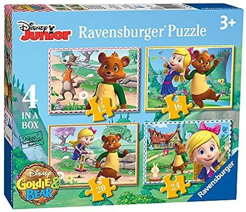 Ravensburger Disney Goldie & Bär 4in einer Box (12, 16, 20, 24-) Puzzle