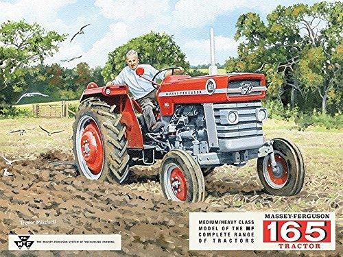 Massey - Ferguson 165 Tracteur. Rouge. Agriculteur, occasion d'occasion  Livré partout en Belgique