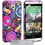 Yousave Accessories HT-DA03-Z439 Coque en silicone pour HTC Desire 610 Noir
