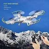 FPVRC RC Quadcopter Drone Camera X5C-1 Aereo Elicottero Giocattolo E laltezza Attesa Funzione 2.4G Senza Testa Flip 3D Di Volo Dellaeroplano Una Chiave Elicottero Casa Telecomando ( Bianco )