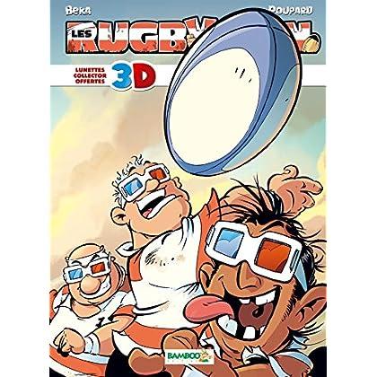 Les rugbymen - 3D