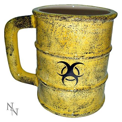 Nemesis Now Toxic Waste Mug Tazza giallo