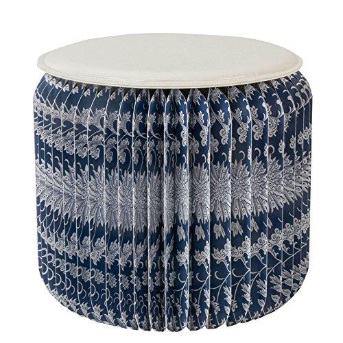 CS Kraft papier pliant tabouret portatif Creative ménage salon table basse chaise de compression et d'étanchéité