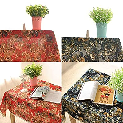 Japaness Style Linen Tablecloths Coffee Table Cloth Tablecloths produced by Oshide - quick delivery from UK.