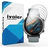 VGUARD 6 Pezzi Pellicola Protettiva per Huawei Watch GT 2 42mm, Wet Applied Protezione Schermo [Bubble-Free…