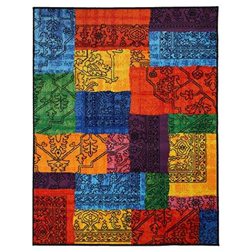 Sobel Tap. Look 503K Quadri Teppich Multicolor, 100% Polypropiene, 133X190 cm.