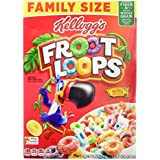 Kellogg's Froot Loops Cereal (482g)