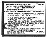 Akku-King Akku für Samsung SGH-J600 J610 E740 L600 S7350 S8300 F110 miCoach Z170 - Li-Ion ersetzt AB483640BE - 850mAh
