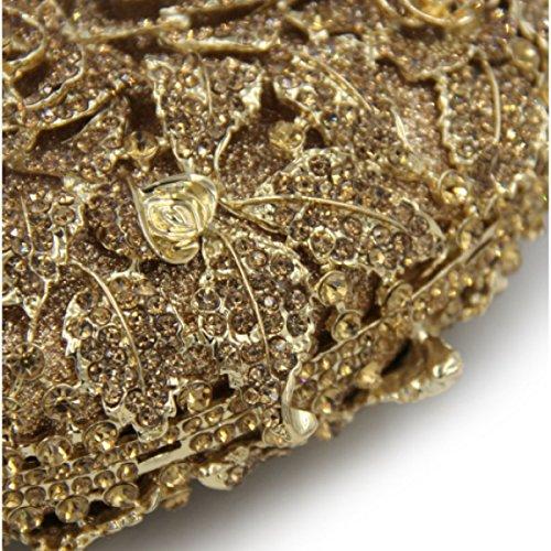 Borse Da Sera Delle Donne Di Cristallo Di Alta Qualità Diamante Borse Deepgold