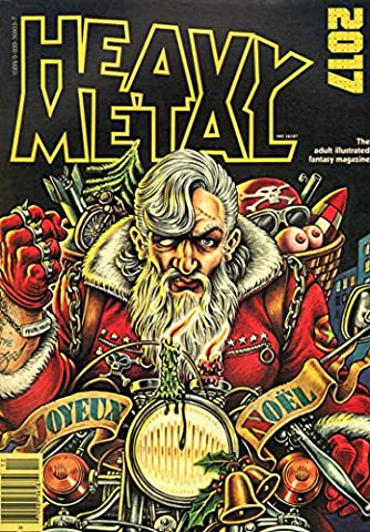 Wall Calendar 2017 [12 pages 20x30cm] HEAVY METAL MAGAZINE Covers