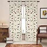 Soumya Embrodiery 05 Cotton Curtain, 1 p...