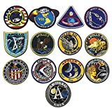 OYSTERBOY NASA Apollo Mission Space Moon Landing Program Patch Collection