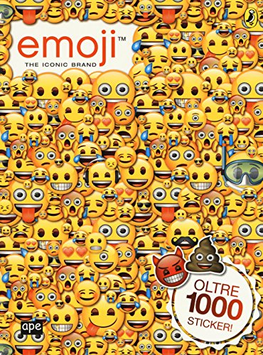 Emoji. The iconic brand. Oltre 1000 stickers. Ediz. a colori
