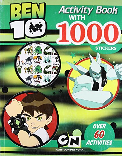 Ben 10 Activity Book With 1000 Stickers: Activity Book with 100 Stickers