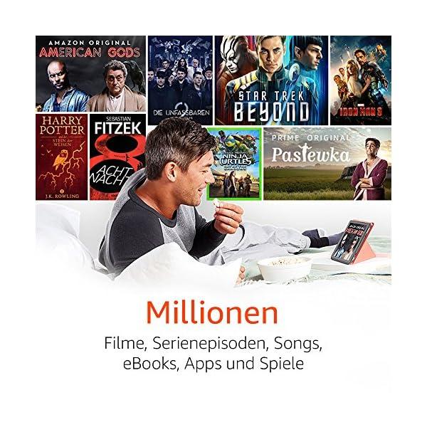 Fire HD 10-Tablet, 1080p Full HD-Display, 32 GB, Blau, mit Spezialangeboten
