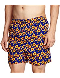 Indigo Nation Men's Cotton Lounge Shorts