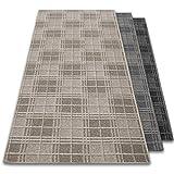 Teppich-Läufer Dundee | für Flur, Wohnzimmer, Schlafzimmer etc. | schadstoffgeprüft mit GUT-Siegel | viele Größen, 3 Farben (50x100 cm, beige)