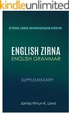 English Zirna: English Grammar in Mizo