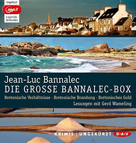 Sammlung Bügel (Die große Bannalec-Box: Ungekürzte Lesungen mit Gerd Wameling (3 mp3-CDs))