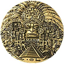 Imán para nevera de resina de la ciudad del mundo maya, ideal como recuerdo de viaje, regalo de turista, hecho a mano en China, manualidades creativas para ...