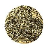 Imán para nevera de resina de la ciudad del mundo maya, ideal como recuerdo de viaje, regalo de turista, hecho a mano en China, manualidades creativas para el hogar y la cocina, adhesivo magnético
