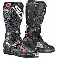 Sidi Crossfire 2Nero Moto Enduro Stivali + Free calzini nuovo
