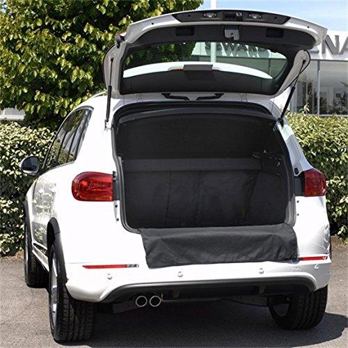 Premium Grey with Blue Trim Connected Essentials CEM650 A6 Avant 2005-Onwards Car Mat Set