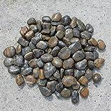 120kg polierter kiesel glanzkies flusskiesel kieselsteine for Kieselsteine baumarkt