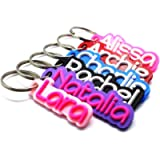 Personalised Keyring - Two Colours!!