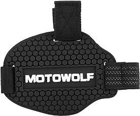 Keenso Motorrad Schwarz Gangschaltung Gummi Schuhe Pad Abnutzung Protector Shifter Guards
