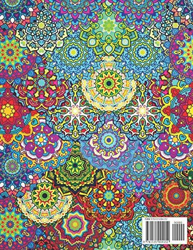 Mandalas Complejos  Libro De Colorear Para Adultos Precio