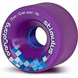 Orangatang Stimulus 70 mm Freeride Longboard Skateboard Wheels (Set of 4)