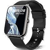 Smartwatch, KALINCO 1,4 tums pekskärm med personlig skärm, armbandsur med blodtrycksmätning, puls, sömnmonitor, sportklocka I