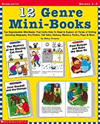 12 Genre Mini-Books: Fun Reproducible Mini-Books That Invite Kids To Read and Explore 12 Forms Of Writing Including Biography, Non-Fiction, Tall Tales, Fantasy, Mystery, Poetry, Plays and More: Grades 1-3 by Betsy Franco (March 01,2002)