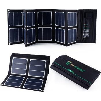 Sunkingdom 40w 18v Solar Ladeger 228 T Faltbare Falte Amazon